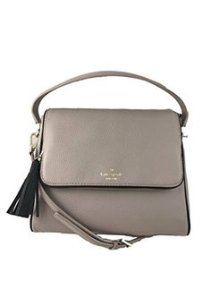 online shopping for Kate Spade New York Chester Street Miri Pebbled Leather Shoulder Bag from top store. See new offer for Kate Spade New York Chester Street Miri Pebbled Leather Shoulder Bag Shoulder Purse, Crossbody Shoulder Bag, Leather Crossbody Bag, Leather Shoulder Bag, Leather Bag, Shoulder Strap, Crossbody Bags, Grey Purses, Classic Handbags
