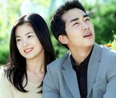 "Song Seung Hun & Song Hye Kyo in ""Endless Love / Autumn in My Heart / Autumn Tale"" series Taiwan Drama, Drama Korea, Jung So Min, Song Hye Kyo, Song Joong Ki, 2000 Songs, Autumn Tale, Autumn In My Heart, Sung Hyun"