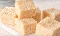 Recette: Carrés Rice Krispies au sucre à la crème.