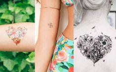 56 ideias de tatuagens de coração para você copiar!
