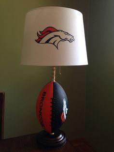 Denver Broncos football Lamp