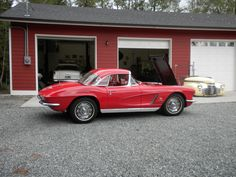 Our 1962 corvette celebrates its 50th birthday this year...