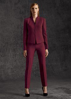 Anne Klein Women's Glen Plaid Pant Suit: http://www.amazon.com ...