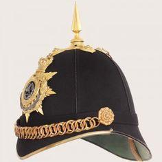 South Wales Borderers Blue Cloth Helmet