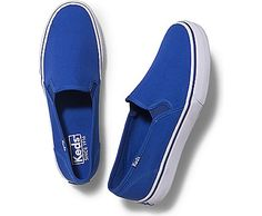 See Keds Shoes for women! Find canvas shoes and tennis shoes on the Official Keds Site. Choose colors and sizes as you browse our full collection of Keds women's shoes. Keds Sneakers, Keds Shoes, Blue Sneakers, Sneakers For Sale, Slip On Sneakers, Blue Shoes, Leather Sneakers, Blue Trainers, Slip On Trainers