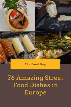 Foodie Travel 102105116540216187 - Street Food in Europe 76 Delicious Dishes You Have to Try Source by violetaloredana Best Street Food, World Street Food, Food Stall, Yummy Snacks, Yummy Food, International Recipes, Foodie Travel, Delicious Dishes, Food Dishes