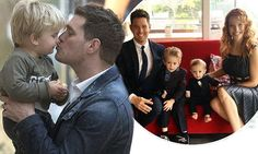 Michael Buble's son Noah, three, 'is recovering' from liver cancer