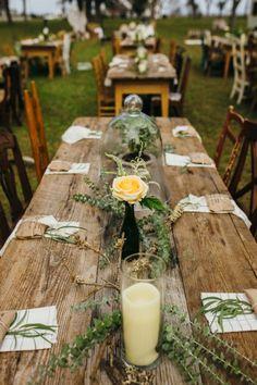 Boho Wedding Decor - Boho Wedding Inspo - Boho Wedding Centerpieces - Boho Wedding - Festival Wedding - Rustic Wedding - Farm Table Wedding Decor - Mismatched Wedding Chairs - Mismatched Wedding Decor - Boho Centerpieces - Greenery Wedding Decor - Boho Wedding Trends - Outer Banks Wedding - OBX Wedding - Festival Wedding Decor - Renee Landry Rentals - Honeysuckle Events florals - Sarah D'Ambra Photography - see more here: https://southernhospitalityweddings.com/portfolio/kelly-riley/