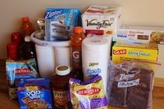 What to bring to a grieving friend.  More ideas than just the basic food.