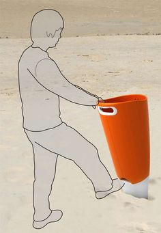 Recycle Bins by Samuel Wilkinson - One possible approach to domestic waste management is purchasing a crappy brown-colored garbage bin and expecting it to get very dingy very quickly.