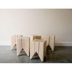 Stump Bench - kind-of-cool at $85  Kalon Studios Stump
