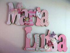 Resultado de imagem para letras decoradas