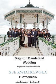 664c24cf4fd5 Brighton Bandstand Wedding Vow Renewal Ceremony
