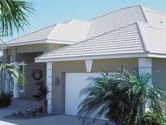 Best Glazed Ceramic Roof Tile In White Frost Color Energy 400 x 300