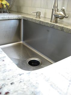 Definitely want an Undermount Single Bowl Stainless Steel Kitchen Sink Kitchen Redo, Home Decor Kitchen, New Kitchen, Home Kitchens, Kitchen Remodel, Kitchen Design, Kitchen Sinks, Ikea Kitchens, Ikea Kitchen Planning