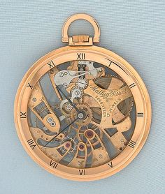 Supercomplication pocket watch