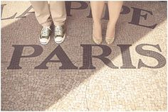 Fabulous shoes in Paris | Photography © Natalie J Weddings via French Wedding Style