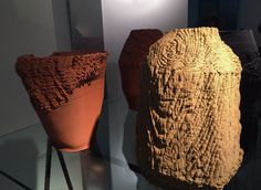 olivier van herpt's 3D printed ceramics for design academy eindhoven