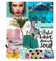 """Welcome to paradise"" by amethystes ❤ liked on Polyvore featuring Billabong, Été Swim, Assouline Publishing, Calvin Klein, Mara Hoffman, Tory Burch, Sunnylife and TropicalVacation"