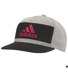 Adidas Golf Adidas Heather Block Cap Features  Structured construction  holds it shape UPF 50 for sun protection Heather fabrication on front  paneling Raised ... fc428fef7835