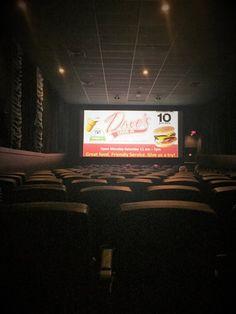 Digital signage installation in a Canadian cinema
