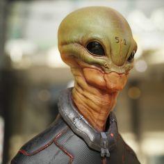 Area 51 Alien by JRoscinas Aliens Meme, Aliens And Ufos, Ancient Aliens, Man In Black, Alien Photos, Alien Life Forms, Alien Aesthetic, Grey Alien, Alien Character