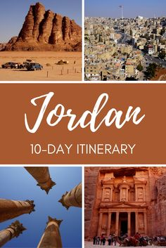 Jordan Travel Itinerary: Wondering where to go in Jordan, this 10-day Jordan travel itinerary will help you discover some of the best places in the country!