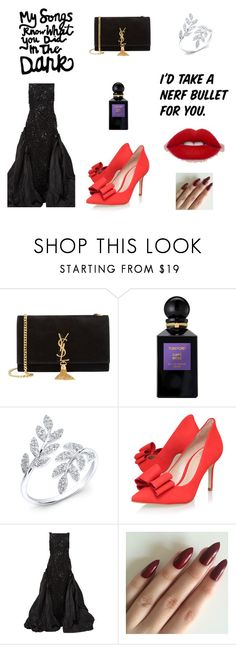 """""""Untitled #7"""" by thefashion007 ❤ liked on Polyvore featuring Yves Saint Laurent, Tom Ford, KG Kurt Geiger and Oscar de la Renta"""