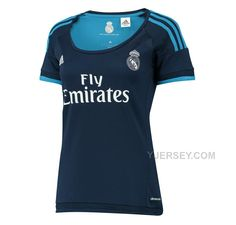 http://www.yjersey.com/1516-real-madrid-away-navy-womens-soccer-jersey-shirt.html Only$27.00 15-16 REAL MADRID AWAY NAVY WOMEN'S SOCCER JERSEY SHIRT Free Shipping!
