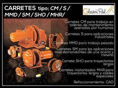 Carretes tipo CM / S / MMD / SM / SHO / MHR . marca: Gleason Reel en México  Carretes industriales diferente tipos para grúas en todo la republica. ARTOC encargados de representar la marca.   Visítenos en: www.artoc.com.mx