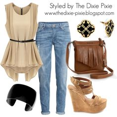 Summer Outfits. Fashion for women over 40. Boyfriend jeans.