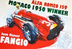 Juan Manuel Fangio Alfa Romeo