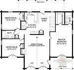 Boyd - Log Home Plan | Southland Log Homes