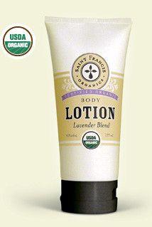 USDA Organic Body Lotion