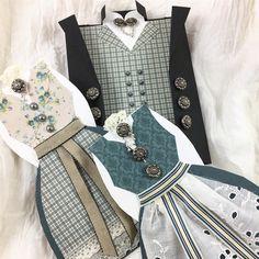 """0 likerklikk, 1 kommentarer – Mona Vestpåsveen (@monavestpaasveen) på Instagram: """"Nå er det snart konfirmasjonstid og jeg lager bunadkort til både jenter og gutter om dagen. #bunad…"""" Diy And Crafts, Paper Crafts, Gift Bags, Instagram Posts, Cards, Boxes, Gifts, Scrapbooking, Inspiration"""