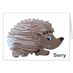 Sorry I've been Prickly Card