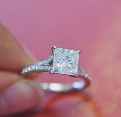 Unmatched brilliance found in this diamond ring. #diamond #ring I am in love with this. Stunning ring.