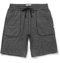 Loopback Cotton-Blend Jersey Shorts | MR PORTER