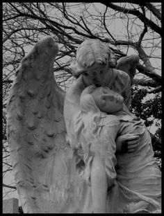 safe...in an Angels arms.