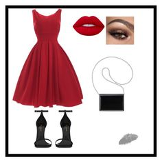 """""""night☁️"""" by sulifes on Polyvore featuring moda, Yves Saint Laurent, Nine West ve Lime Crime"""