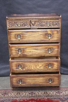 Feudal Oak Dresser And Two Night Stands At Our Nampa Store Diy Furniture Pinterest More