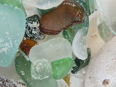 Sandy Beach Glass Photograph