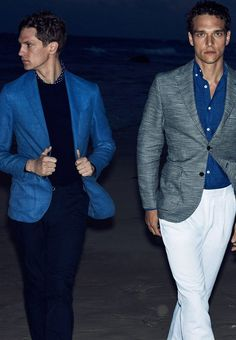 Alexandre Cunha and Mathias Lauridsen Model Massimo Dutti SS17 Collection