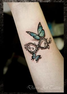 Something along these lines with the kids' names and possibl Mother Tattoos, Mom Tattoos, Friend Tattoos, Wrist Tattoos, Cute Tattoos, Body Art Tattoos, Small Tattoos, Tatoos, Butterfly Wrist Tattoo