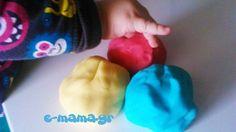 e-mama.gr   Φτιάξε σπιτική πλαστελίνη ή αλλιώς Playdough - e-mama.gr Baby Games, Watermelon, Activities For Kids, Fruit, Diy, Crafts, Food, Baptism Ideas, Menu