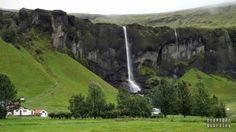 Islandia - Droga z Vik do Hofn Iceland with #readyforboarding #Iceland #Islandia #blogtrotters #blogtroterzy #travel #podróże #advice #porady Iceland, Golf Courses, Waterfall, Outdoor, Ice Land, Outdoors, Waterfalls, Outdoor Games, The Great Outdoors
