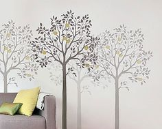 Free tree Stencil Patterns | Large Tree| Large Tree stencil. Description from…