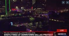 BREAKING: Dallas Officer Shot at Cop Shooting Protest