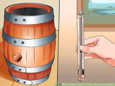 How to Make Quick and Tasty Moonshine Whiskey. Whiskey has been warming the hearts of cowboys, billionaires, and everyone in between for hundreds of years. From the stuff of moonshine legends to the finest of scotches, whiskey is a. Moonshine Mash Recipe, Moonshine Whiskey, Moonshine Still, Making Moonshine, Homemade Moonshine, Homemade Alcohol, Homemade Wine, Moon Shine, How To Make Whiskey