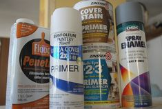 The best paints, primers, etc. for redoing furniture